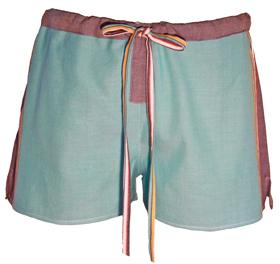 Short Shorts - Watatu Turquoise