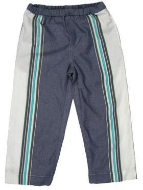 Toto Trousers : Tatu Blue