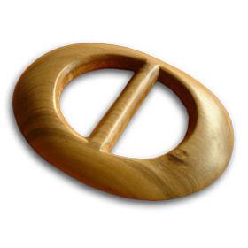Kikoy Wooden Clip - Oval