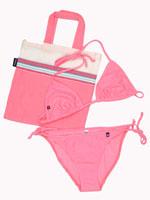 String Bikini - Tatu Pink
