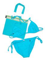String Bikini - Tatu Turquoise