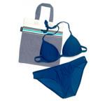 Essential Bikini - Tatu Blue