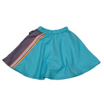 Toto Bahari Skirt - Watatu Turquoise