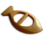 Kikoy Wooden Clip - Fish