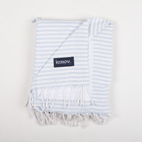 Beach Towel Shimba Silver