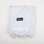 Beach Towel Shimba Silver