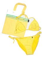 String Bikini - Tatu Yellow