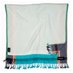 Toto Beach Towel - Watatu Turquoise