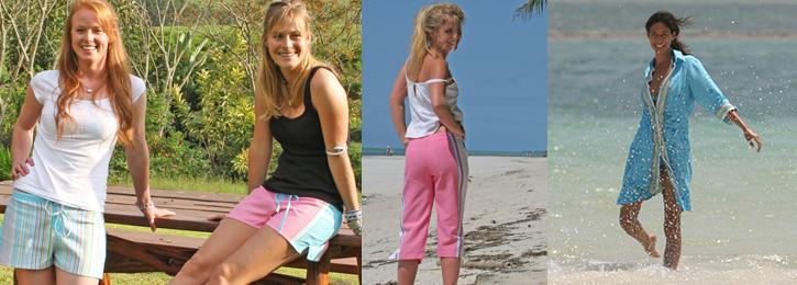 Womens Kikoy Clothing